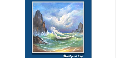 Monet for a Day painting  workshop tickets