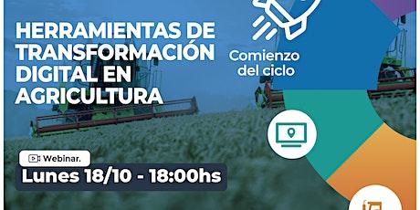 """Ciclo """"Descubriendo el potencial de la agricultura digital"""" - Paraguay entradas"""