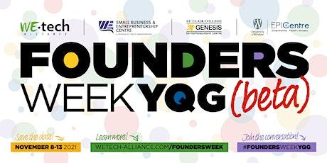 Founders Week YQG (beta) tickets