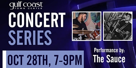GCTC Concert Series with The Sauce tickets