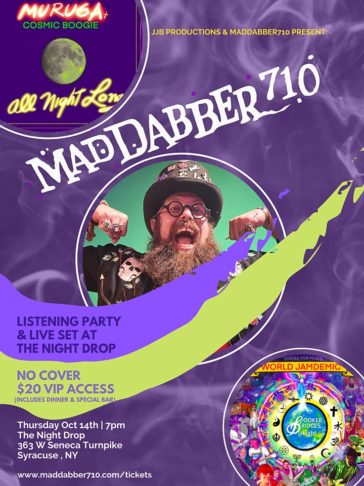 MadDabber710 VIP Dinner & Listening Party image