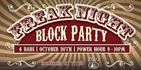 Halloween Freak Night Block Party   Downtown Boise 10.30.21 tickets