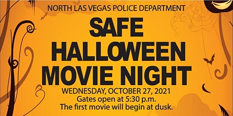 North Las Vegas Police Department ~ Safe Halloween Movie Night (2021) tickets
