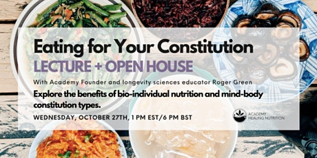 Eating For Your Constitution tickets