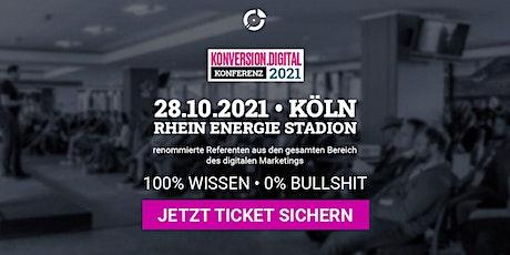 konversion.digital Konferenz 2021 Tickets