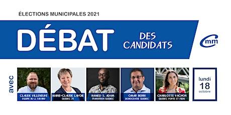 Débat des candidat(e)s du district de Maizerets -Lairet billets