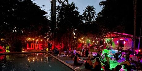 Outdoor Yoga & Sound Healing at Magical Oasis with Michelle Berlin tickets