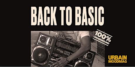 BACK TO BASIC billets