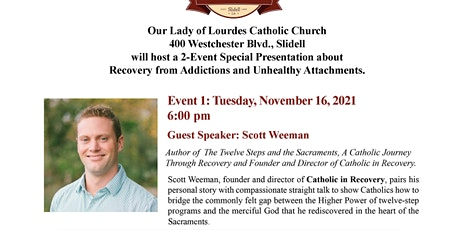 Recovery from Addictions and Unhealthy Attachments - Event Series #1 tickets