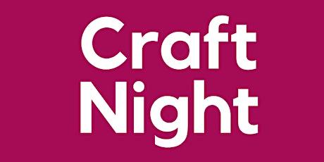 October Craft Night tickets
