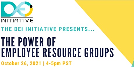 The Power of Employee Resource Groups (ERGs) tickets