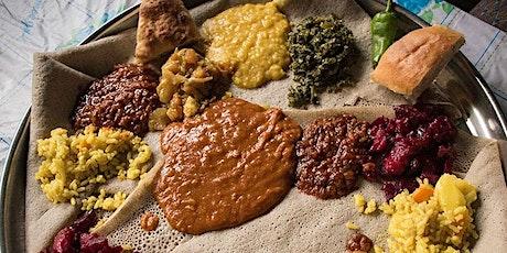 Livestream: Ethiopian & Eritrean Ingudai Tibs and Beet Salad tickets