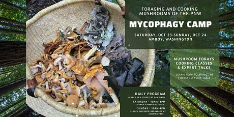 1st Annual Pacific Northwest Mycophagy Camp tickets