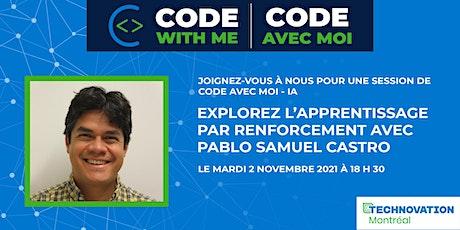 Code avec moi - IA avec Pablo Samuel Castro billets