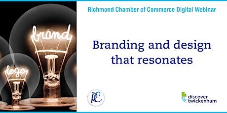 Chamber Digital Webinar - branding and design that resonates tickets