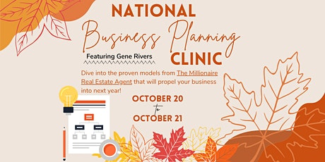 National Business Planning Clinic tickets