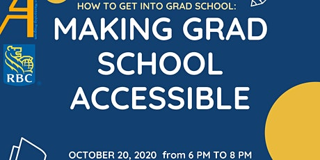 How to get into Grad School: Making Grad School Accessible tickets