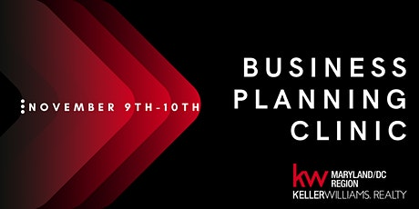 KW MD/DC: MREA Business Planning Clinic tickets