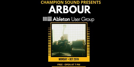 PORTLAND ABLETON USER GROUP : ARBOUR tickets