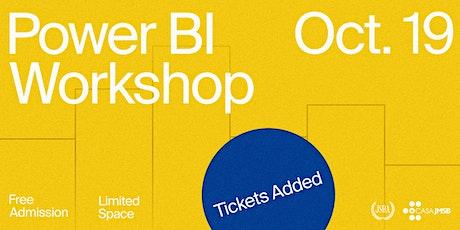 JSBA PowerBI Workshop tickets