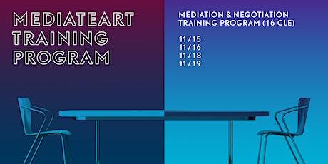 MediateArt: Mediation & Negotiation Training Program (CLE) tickets