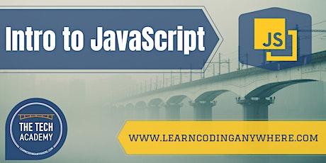 Intro to JavaScript: A Free Coding Class at The Tech Academy biglietti