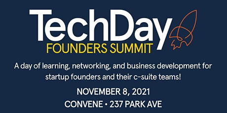 TechDay Founders Summit tickets