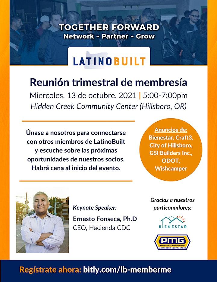 LatinoBuilt's 4th Quarter Membership Meeting image