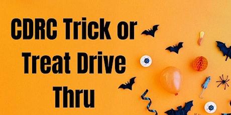 CDRC Trick or Treat Drive Thru tickets