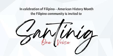 Santinig: One Voice tickets