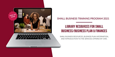 Library Resources/Business Plan & Finances tickets