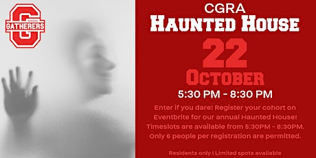 Chappelle Gardens Haunted House tickets