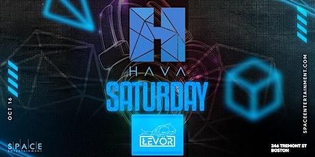 Hava Saturdays tickets