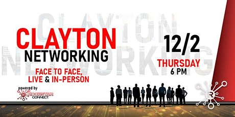 Free Clayton Rockstar Connect Networking Event (December, Clayton NC) tickets