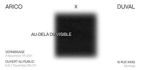 Arico X Duval | Au-delà du visible | Vernissage tickets