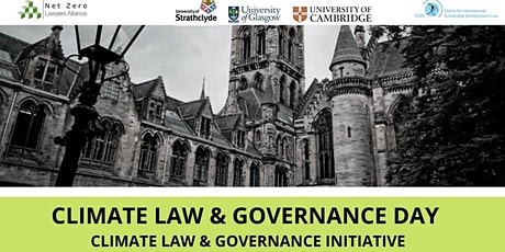 Climate Law and Governance Day tickets