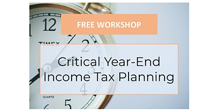 2021 Tax Legislation Update and Year-End Planning for Income and Estate Tax tickets