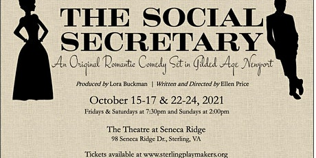 Sterling Playmakers presents The Social Secretary tickets