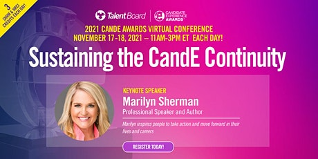 2021 CandE Awards Virtual Conference - Sustaining the CandE Continuity tickets