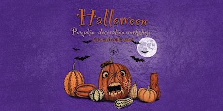 Halloween Pumpkin Decoration Workshop- Arts and Crafts event tickets