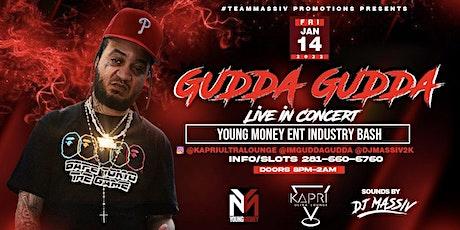 GUDDA GUDDA LIVE IN CONCERT FRIDAY JAN 14TH 2022 tickets