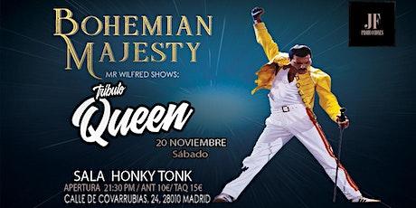 El Gran Tributo a Queen - Bohemian Majesty en Madrid entradas