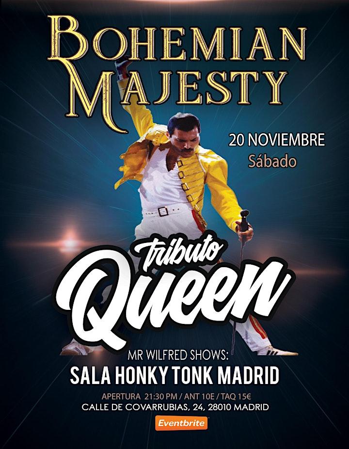 Imagen de El Gran Tributo a Queen - Bohemian Majesty en Madrid