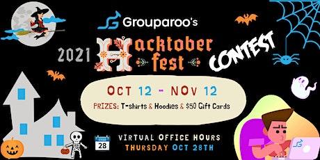Grouparoo's Hacktoberfest 2021 Contest tickets