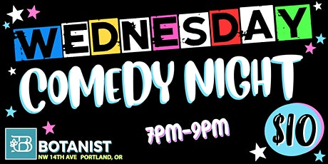 Wednesday Comedy Night October 27th tickets