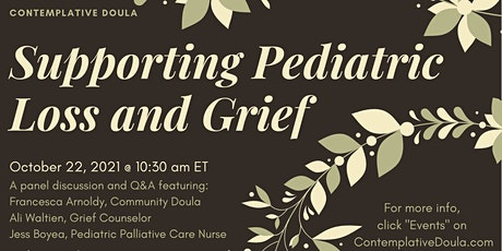 Supporting Pediatric Loss and Grief tickets