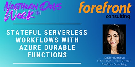 Stateful Serverless Workflows with Azure Durable Functions tickets