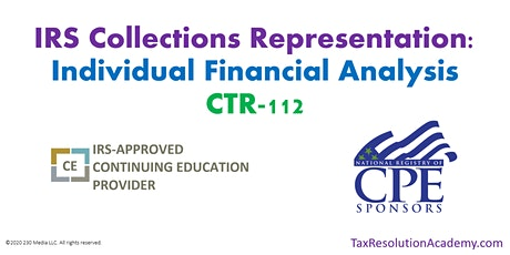 CTR-112: Individual Financial Analysis tickets