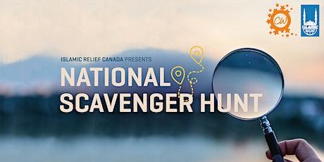 National Scavenger Hunt tickets