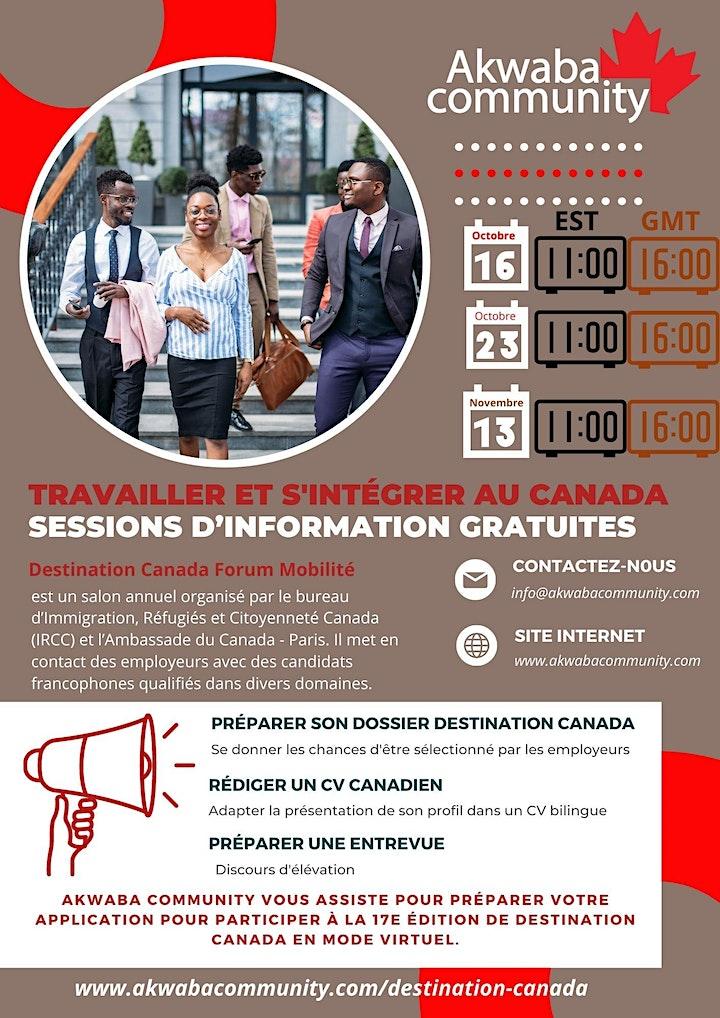 Impact Akwaba: Apprendre à rediger un C.V Canadien image